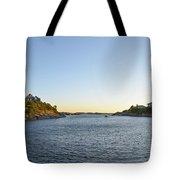 Goose Neck Cove - Newport Rhode Island Tote Bag