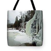 Gooseberry Frozen Falls Tote Bag