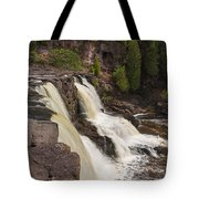 Gooseberry Middle Falls 26 Tote Bag