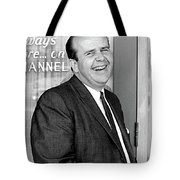Gordon E. Doc Hamilton 1926  2004 Kvoa Tv Tucson Arizona Dick Mayers Photo C.1968 Tote Bag