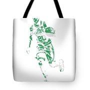 Gordon Hayward Boston Celtics Pixel Art 10 Tote Bag