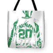 Gordon Hayward Boston Celtics Pixel Art T Shirt 5 Tote Bag