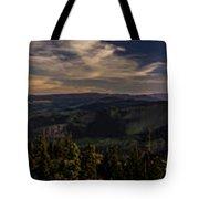 Gorge Sunset Tote Bag