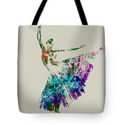 Gorgeous Ballerina Tote Bag by Naxart Studio