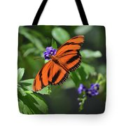 Gorgeous Close Up Of An Oak Tiger Butterfly In Nature Tote Bag