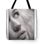 Gorgeous Girl With Sugar On Her Lips Tote Bag