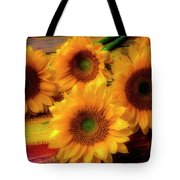 Gorgeous Lovely Sunflowers Tote Bag