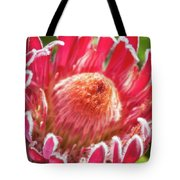Gorgeous Pink Protea Bloom  Tote Bag