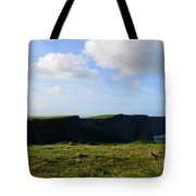 Gorgeous Seascape Along The Cliffs Of Moher In Ireland Tote Bag