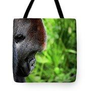Gorilla Portrait Tote Bag