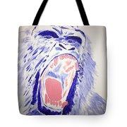 Gorilla Roars Tote Bag