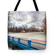 Gorky Park In Winter Tote Bag