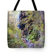 Gorman Falls At Colorado State Park IIi - San Saba Texas Hill Country Tote Bag