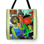 Gossips At The Greengrocer's Tote Bag