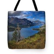 Goat Haunt Pine Tree Panorama Tote Bag