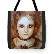 Goth Lady Tote Bag