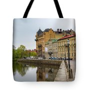 Gothenburg Canal And Park Tote Bag