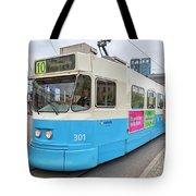 Gothenburg City Tram Tote Bag