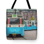 Gothenburg Public Tram Tote Bag