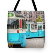 Gothenburg Public Tramcar Tote Bag