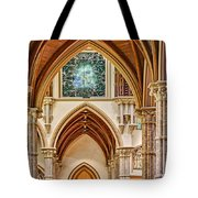 Gothic Arches - Holy Name Cathedral - Chicago Tote Bag
