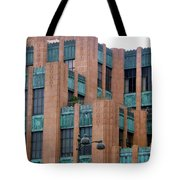 Gothic Architecture In Los Angeles Tote Bag