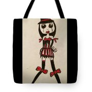 Gothic Burlesque Girl  Tote Bag