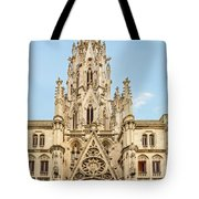 Gothic Cathedral In Havana Tote Bag