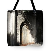 Gothic Darkness. Old Gate Tote Bag