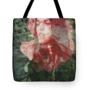 Gothic Flower Tote Bag