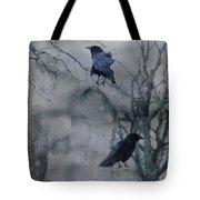Gothic Gray Wash  Tote Bag