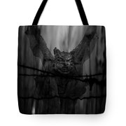 Gothic Guardian Bw Tote Bag