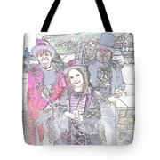 Gothic Ice Cream Girl Tote Bag