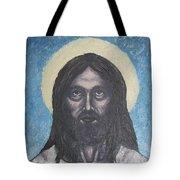 Gothic Jesus Tote Bag