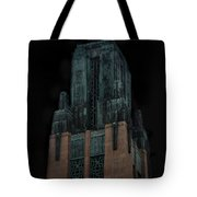 Gothic Night. Architecture Of Los Angeles Tote Bag