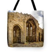 Gothic Temple Ruins - San Domingos Tote Bag