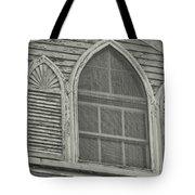 Nantucket Gothic Window  Tote Bag