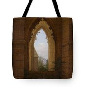 Gothic Windows In The Ruins Of The Monastery At Oybin Tote Bag