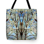 Gothic Winter Tote Bag