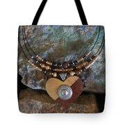 Gourd Button Heart H91 Tote Bag