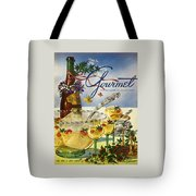 Gourmet Cover Featuring A Bowl And Glasses Tote Bag