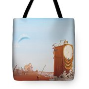 Government Clock Tote Bag