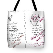 Government Inaction Tote Bag