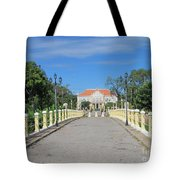 Governor Mansion In Battambang Cambodia Tote Bag