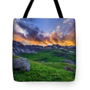 Governor's Basin Sunset Tote Bag