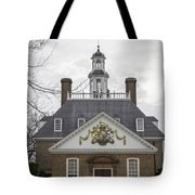 Governors Palace Back Door 01 Tote Bag
