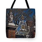 Governor's Palace Gate Detail Tote Bag