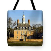 Governor's Palace Williamsburg Tote Bag