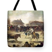 Goya: Bullfight, 1793 Tote Bag