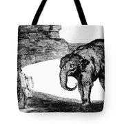 Goya: Elephant, C1820 Tote Bag